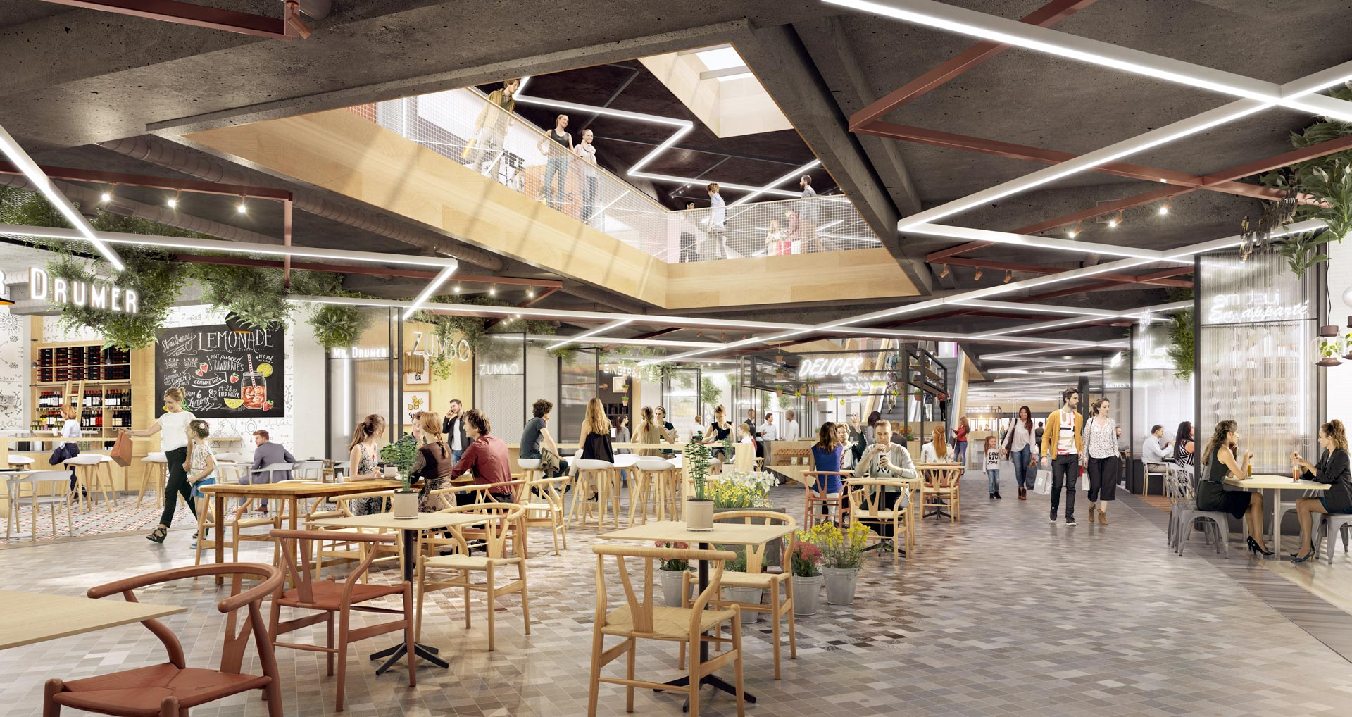 Les ateliers ga t paris futur for Centre commercial grand tour sainte eulalie