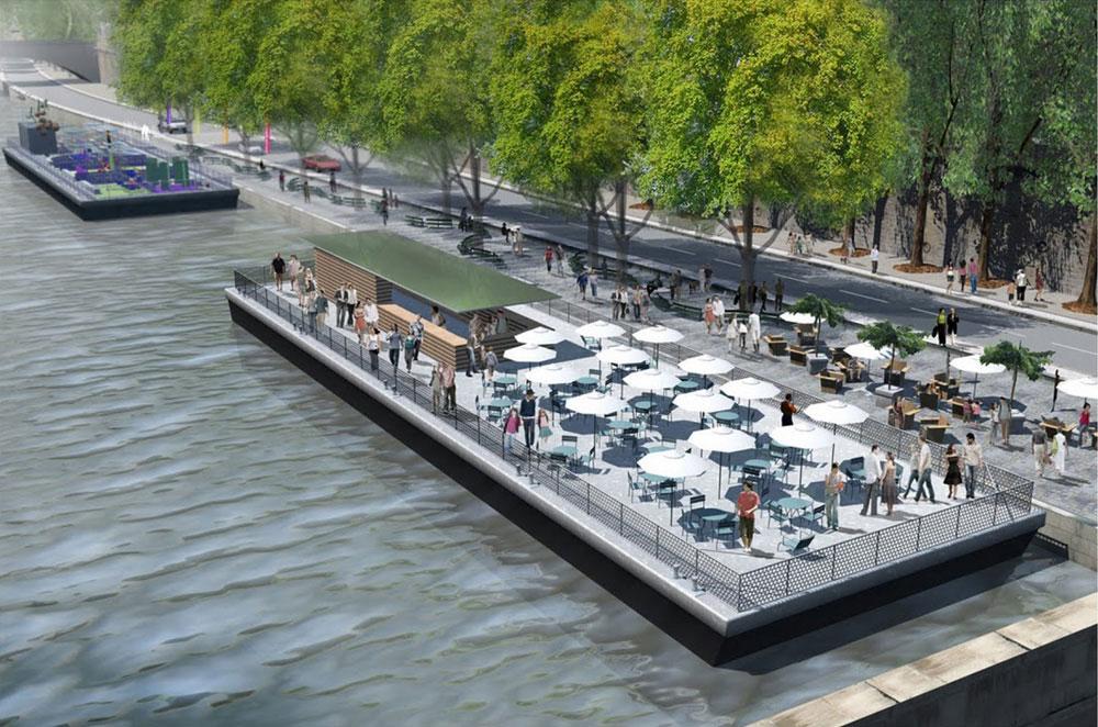 Am U00e9nagement Des Berges De Seine