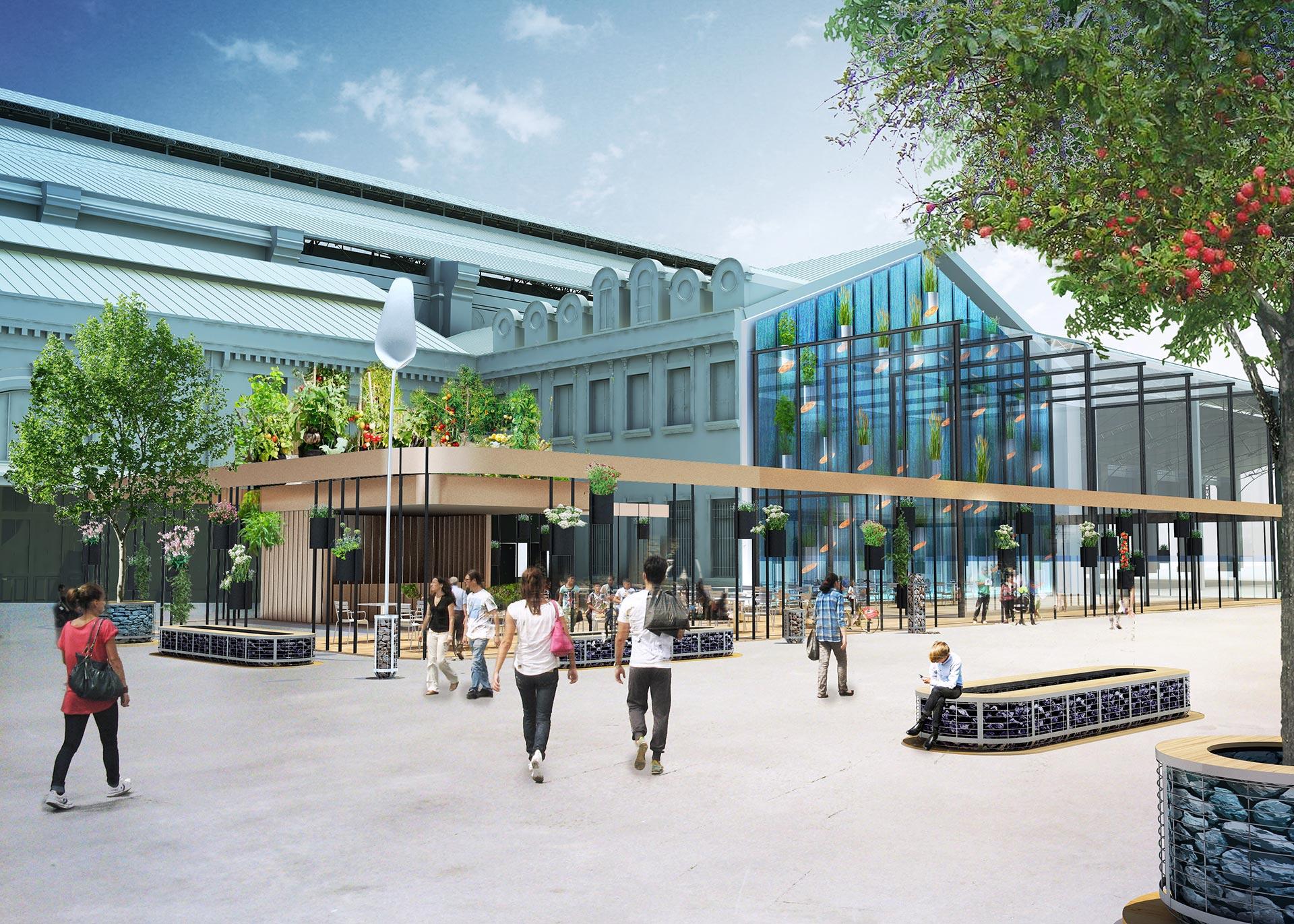 R novation de la gare d 39 austerlitz paris futur - Restaurant gare saint lazare ...