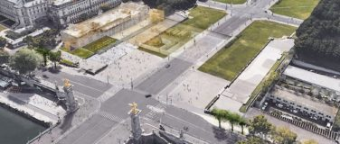 L'Aérog'art sous l'Esplanade des Invalides