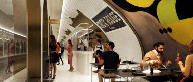 La station Croix Rouge devient un restaurant