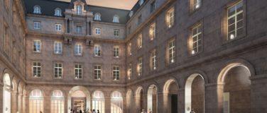 Le nouvel Hôtel de la Marine, place de la Concorde