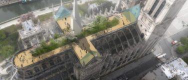 Les premiers projets de rénovation de Notre Dame de Paris