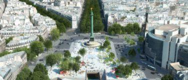 La nouvelle Place de la Bastille