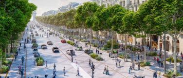 Les Champs Elysées en 2030
