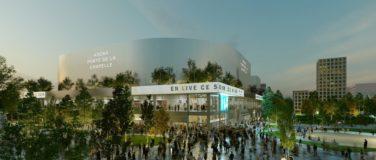 La nouvelle Arena 2, porte de la Chapelle