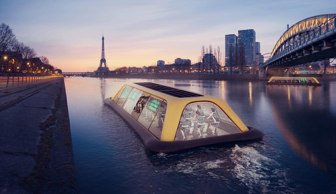 Paris Navigating Gym Projet De Salle De Sport Flottante Carlo