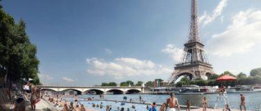 Nouvelles zones de baignade sur la Seine